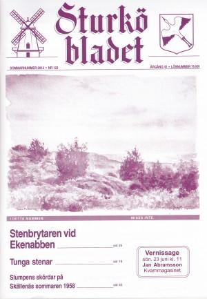 Sturköbladet omslag sommarnummer 2013